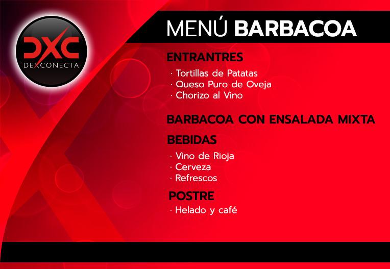 Menú Barbacoa