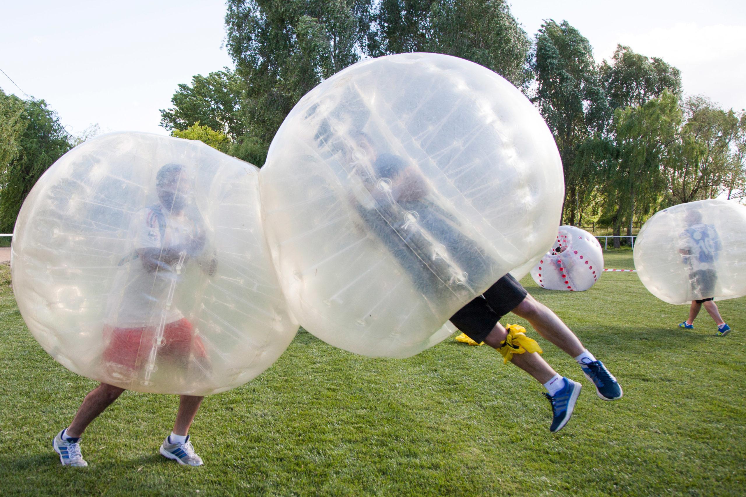 Fútbol Burbuja para despedidas de soltero en Salamanca