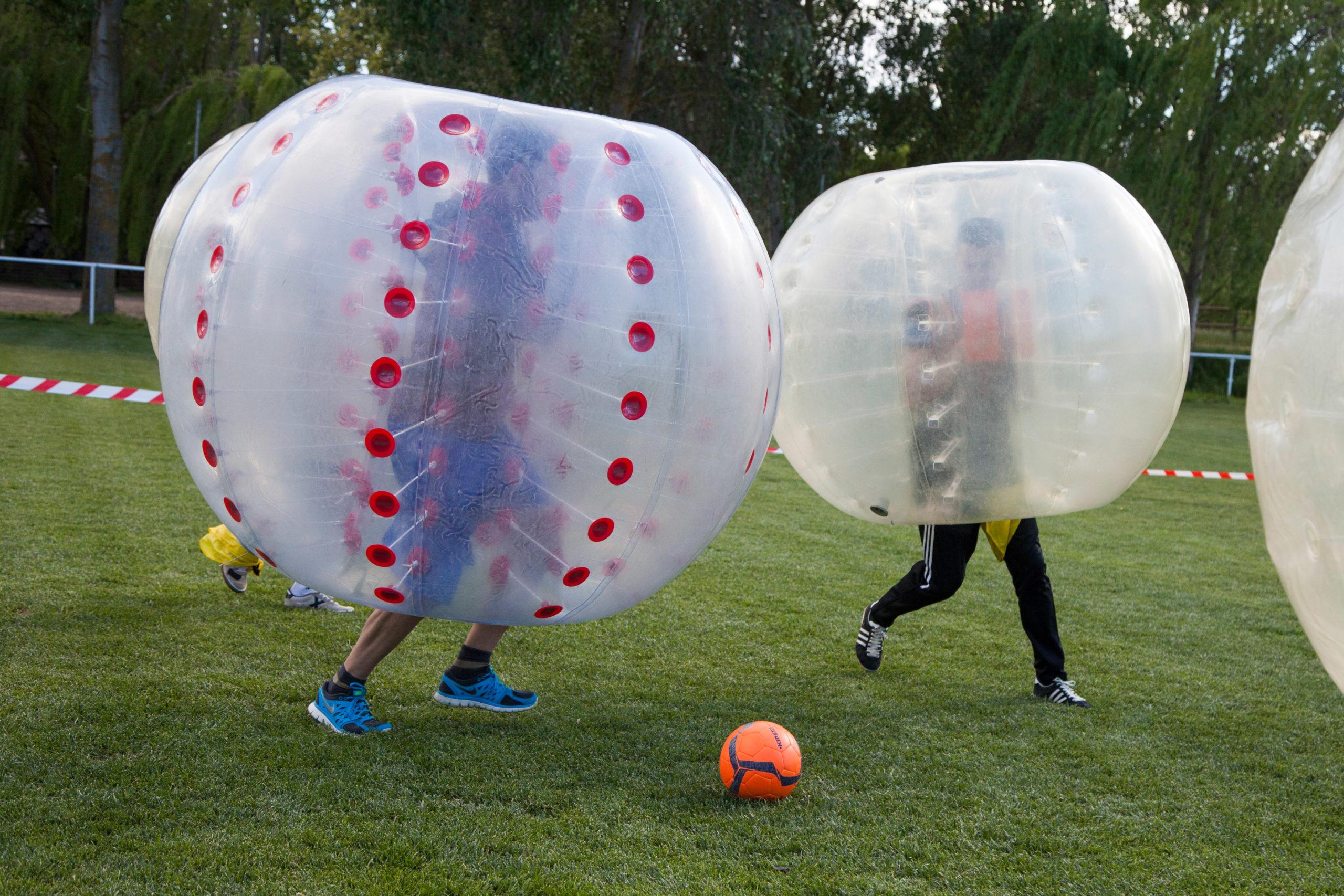 Fútbol Burbuja despedidas en Salamanca