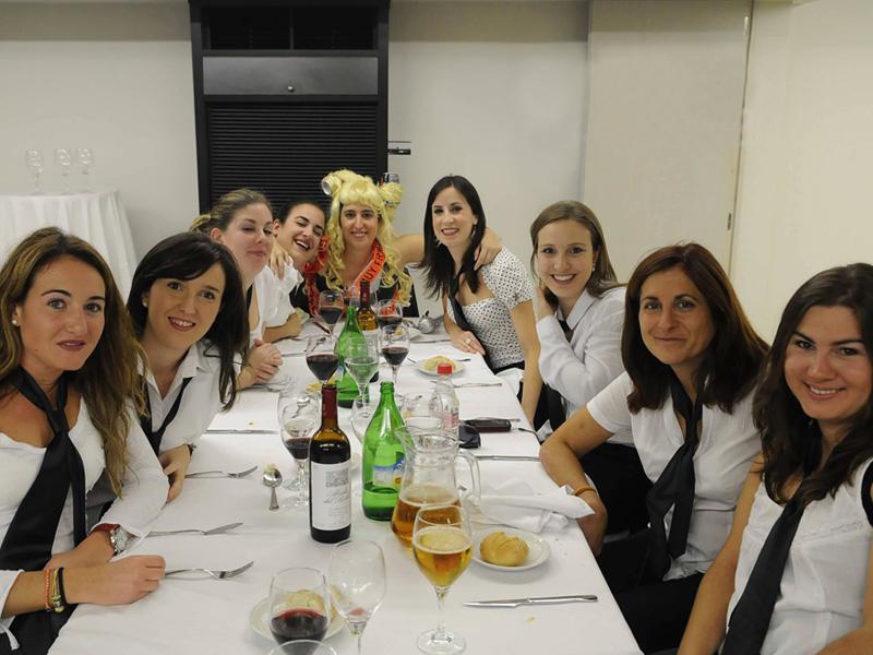 Cena en restaurante de Salamanca