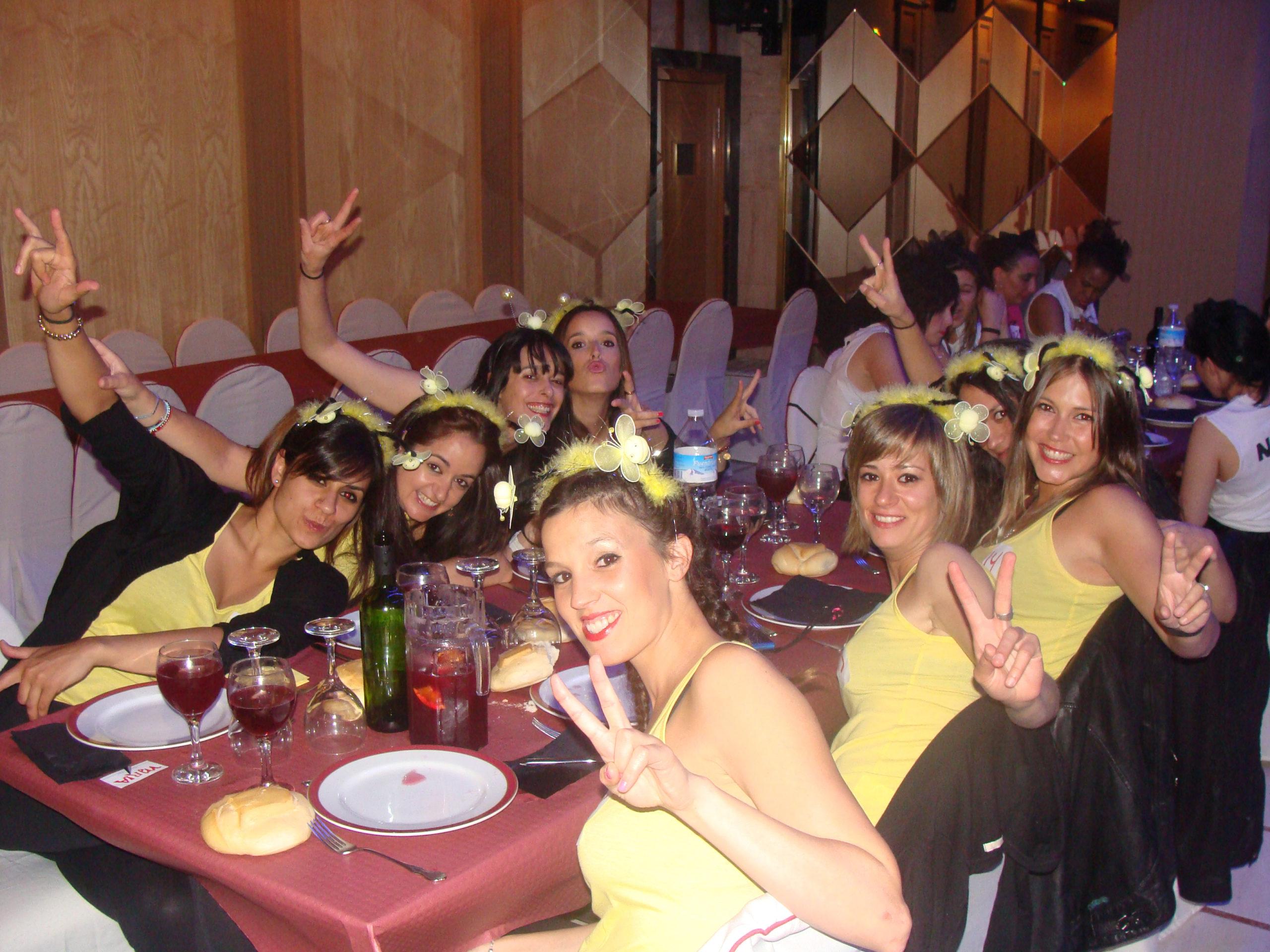 Cena espectáculo original en Salamanca
