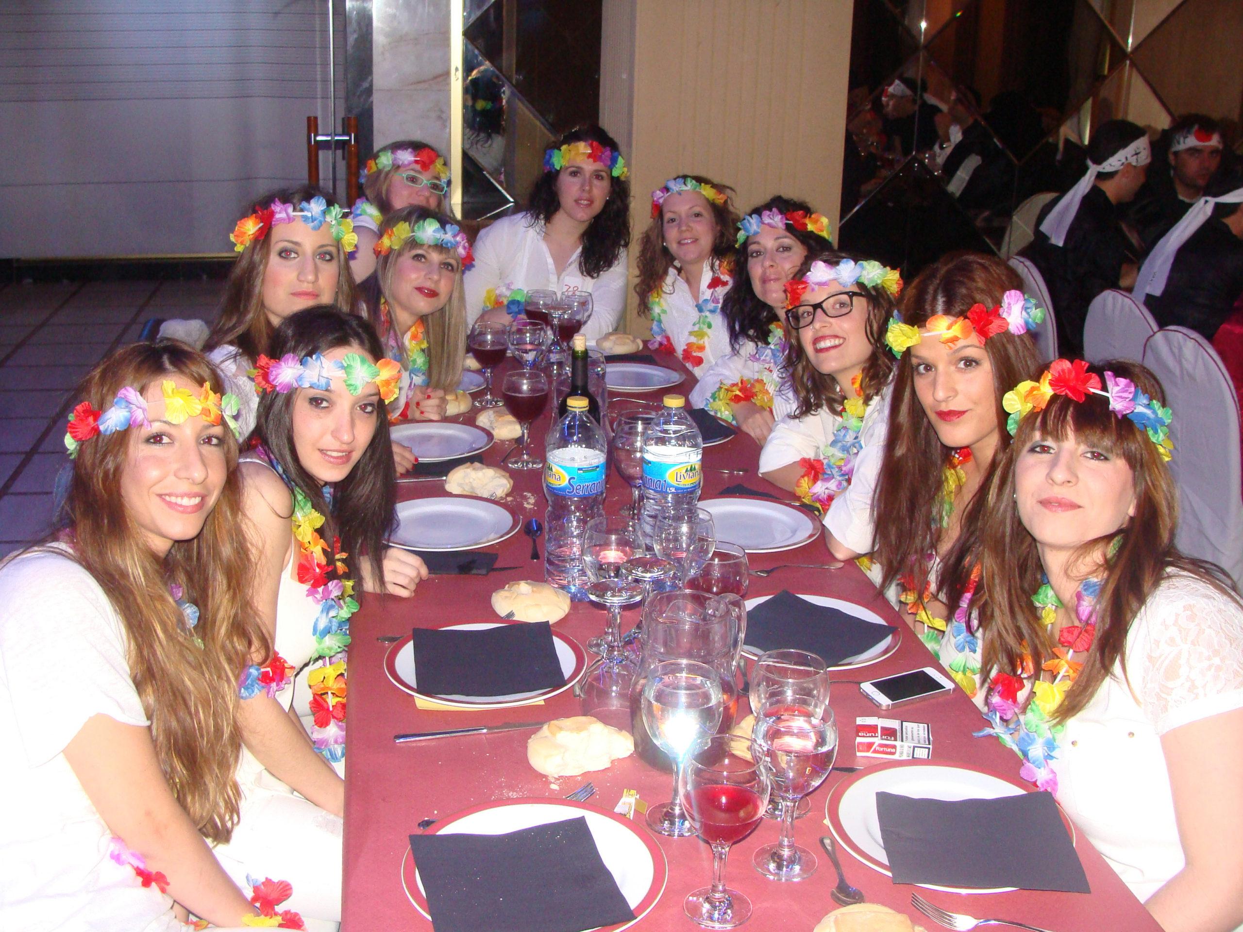Cena espectáculo en Salamanca para despedidas