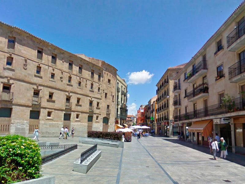 Hostal con vistas en Salamanca