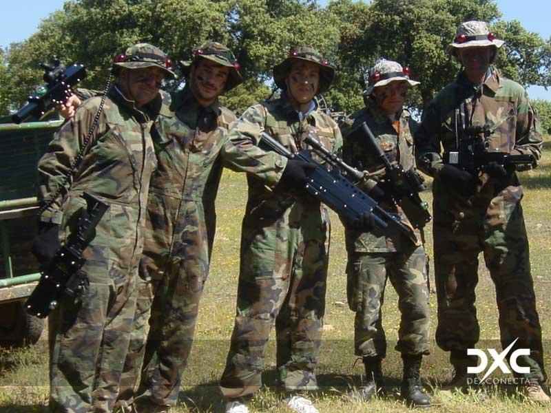 Láser Combat para despedidas originales en Salamanca