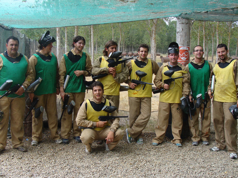 Paintball para despedidas divertidas en Salamanca