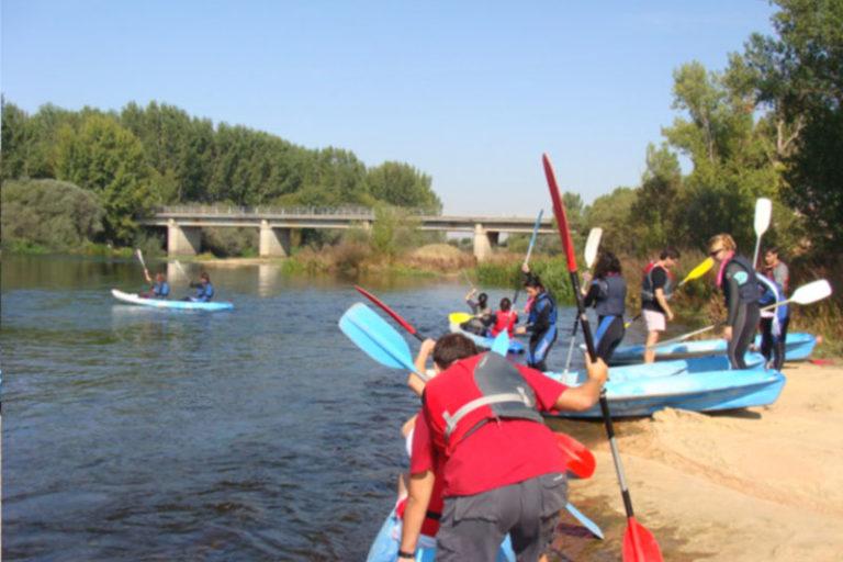 Piraguas en Salamanca para despedidas originales
